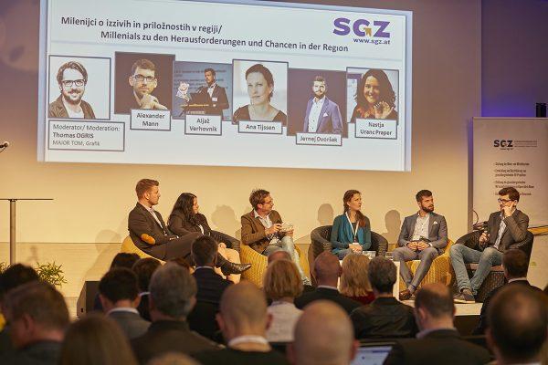 3. razvojna os tema tudi na poslovni konferenci v Avstriji