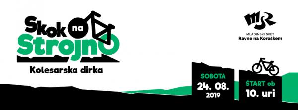 Prihaja kolesarski »Skok na Strojno«
