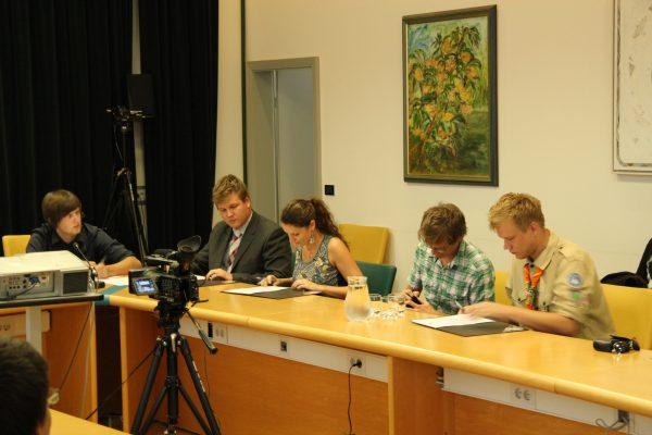 Pred osmimi leti ustanovitev Mladinskega sveta Ravne na Koroškem