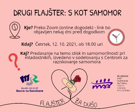 Read more about the article 2. FLAJŠTER: S KOT SAMOMOR